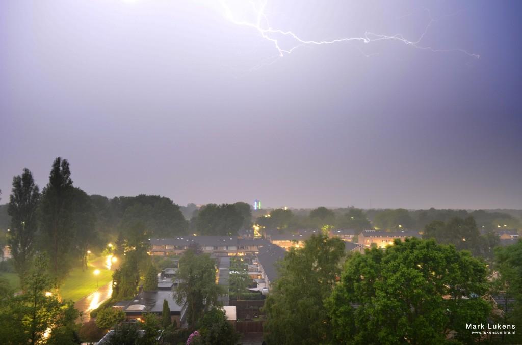 Stadskanaal Onweer
